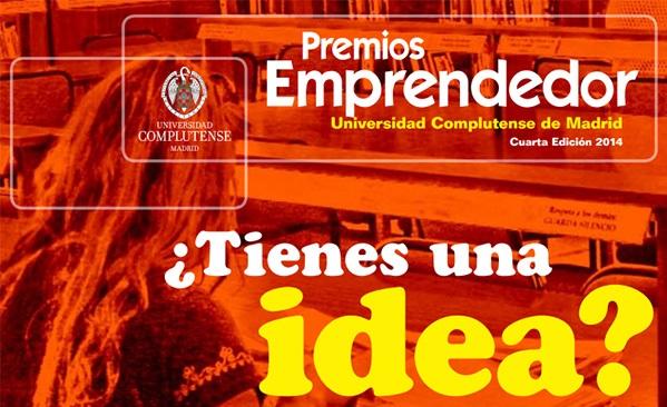 Premios Emprendedor Universitario UCM