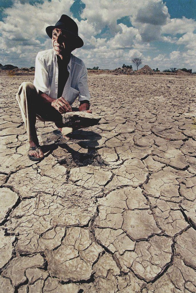 Foto de los efectos de la desertificación