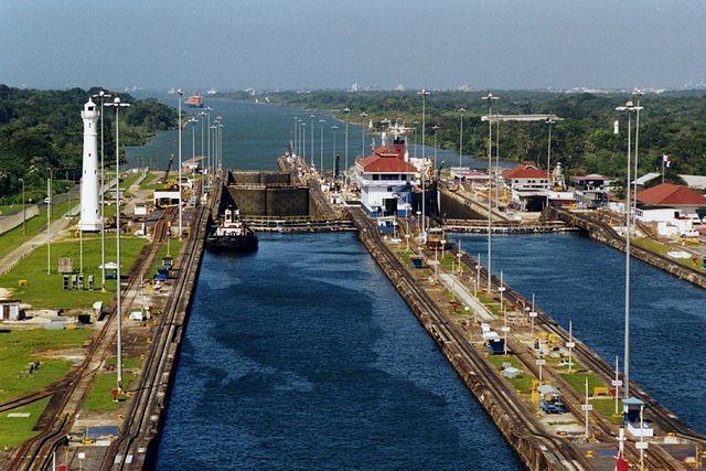 Esclusas de Gatún. Canal de Panamá